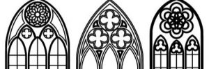 Stained Glass Windows and Gothic Architecture