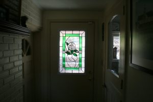 Stained Glass Windows for Privacy