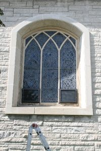 Ventilation Protection for Stained Glass Windows