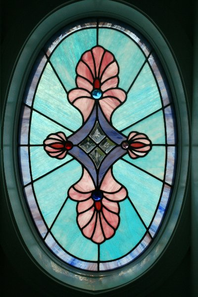 Residential Stained Glass Window Installation in Mechanicsburg, PA