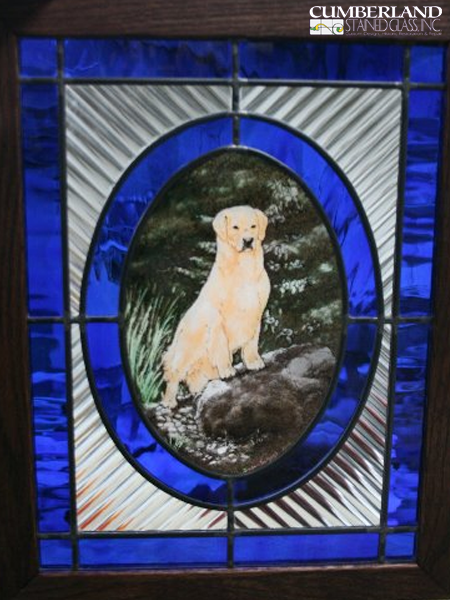 Stained Glass Home Accent Design in Mechanicsburg, PA