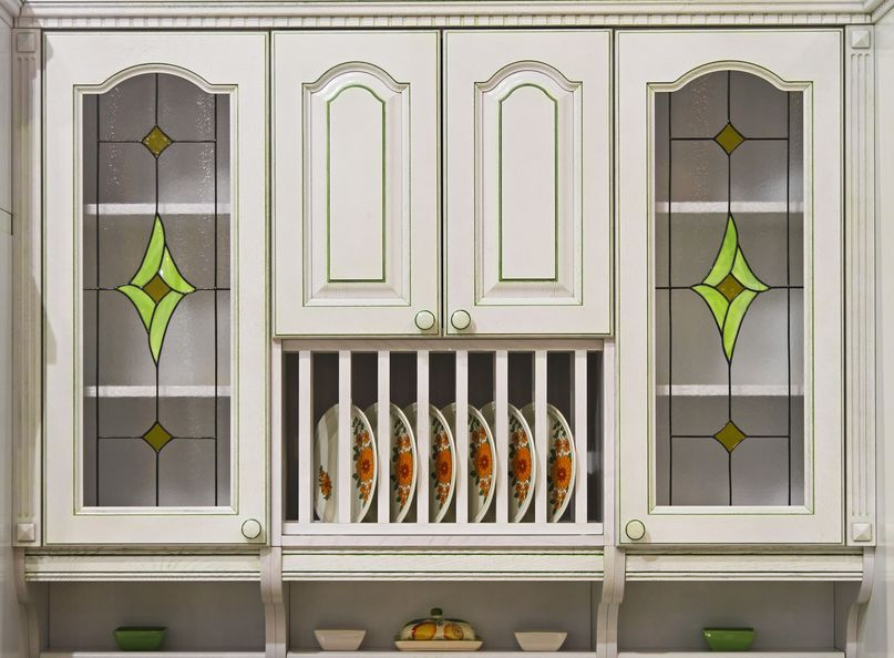 Stained Glass Cabinetry