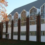 Restoring the outside look of stained glass windows