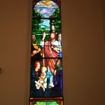 Restoring a single stained glass window