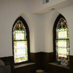 Restoring 2 identical stained glass windows