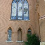 Getting ready to restore stained glass windows