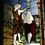 Restoring a stained glass window