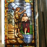 After restoring the stained glass window