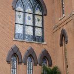 After restoring the stained glass windows