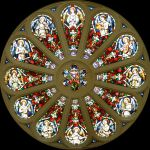 Restoring 12 large stained glass window inserts